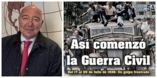 El Quilombo / «Franco se sublevó no contra la República sino contra el Frente Popular que acabó con la convivencia en España»