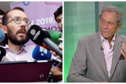 """Arturo Fernández le hace un traje a Podemos con una contundente sentencia: """"Me cae como una patada en el hígado"""""""