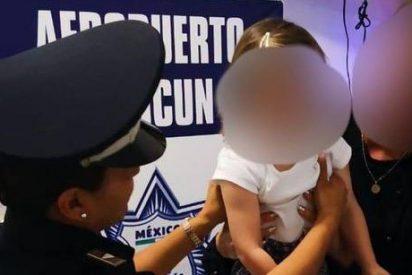 Rescatan a una niña española de 2 años que fue secuestrada en México