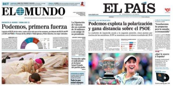El 'Errejonazo' a Pablo Iglesias saca los colores a los medios que subieron a los cielos a Podemos