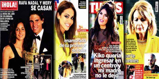 'Prensa Rosa': La Reina Letizia se van Teatro Real con las niñas y metida en unas mallas de cuero
