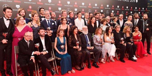 'El Reino', 'Campeones', Fariña' y 'Arde Madrid' triunfan en los Premios Feroz 2019