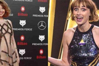 """La presentadora de los premios Feroz machaca a Leticia Dolera: """"Luego te enseño el predictor"""""""