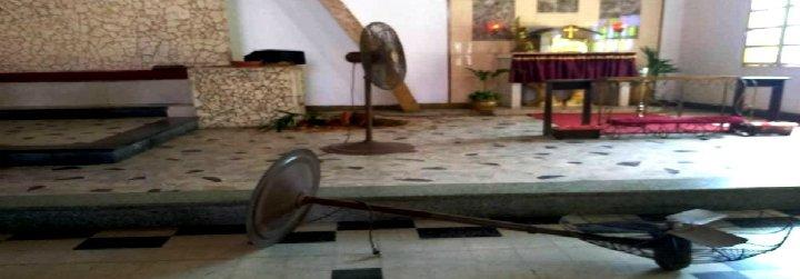"""Azuaje lamenta la profanación de una parroquia de Maracaibo y alerta: """"Mañana serán las casas de familia"""""""
