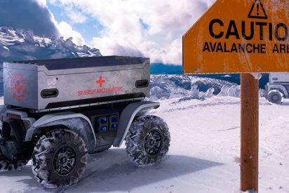 Este impresionante quad autónomo de Honda salvará vidas y llegará a los lugares más peligrosos