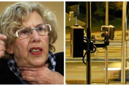 El gobierno de Manuela Carmena instala los nuevos radares de tramo en la A-5 preparados para multar