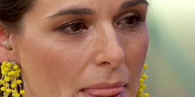 Maestros de la Costura: Raquel Sánchez Silva no puedo contener las lágrimas en su estreno