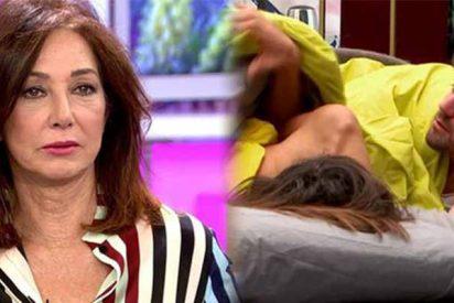 Ana Rosa Quintana se mosquea con su equipo por una escenita sexual