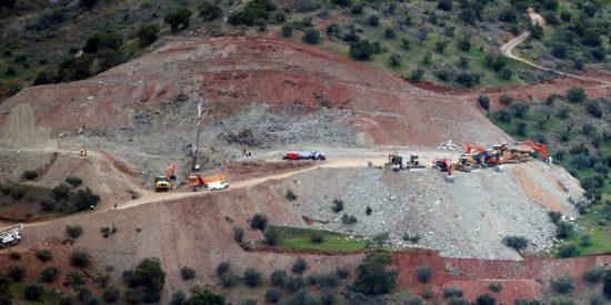Las impresionantes imágenes aéreas que muestran la magnitud de los trabajos de rescate de Julen