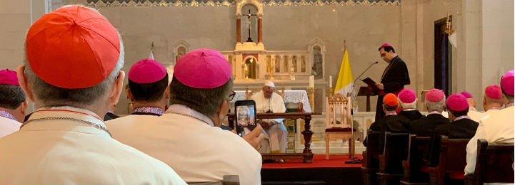 """El Papa fulmina a los obispos: """"No hemos inventado la Iglesia, seguirá sin nosotros"""""""