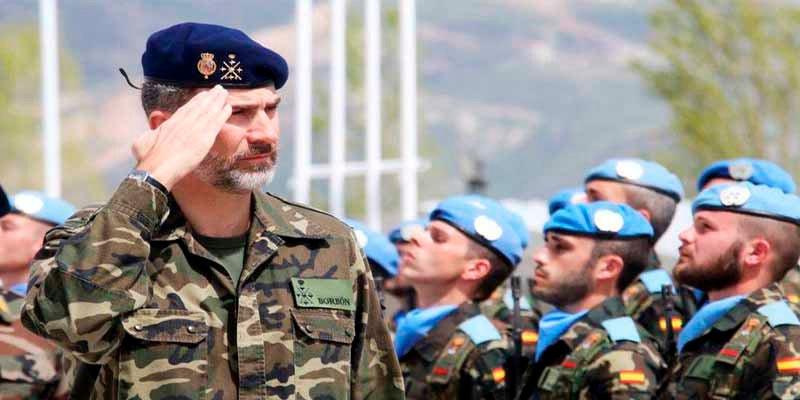 El Rey Felipe VI celebra su 51 cumpleaños en Irak con las tropas españolas que combaten a los terroristas del Daesh