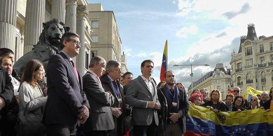 """Venezuela: Albert Rivera busca hacer """"recapacitar"""" a Sánchez por la vía parlamentaria"""