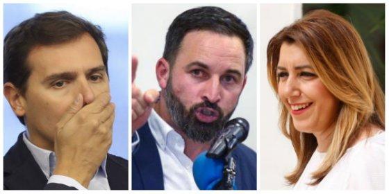 Rivera, como sigas con tu asco a Vox enmierdarás el cambio en Andalucía y volverá Susana por aclamación
