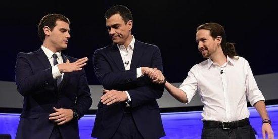 Filtran el 'pacto secreto' entre Sánchez, Iglesias y Rivera que hunde a Ciudadanos