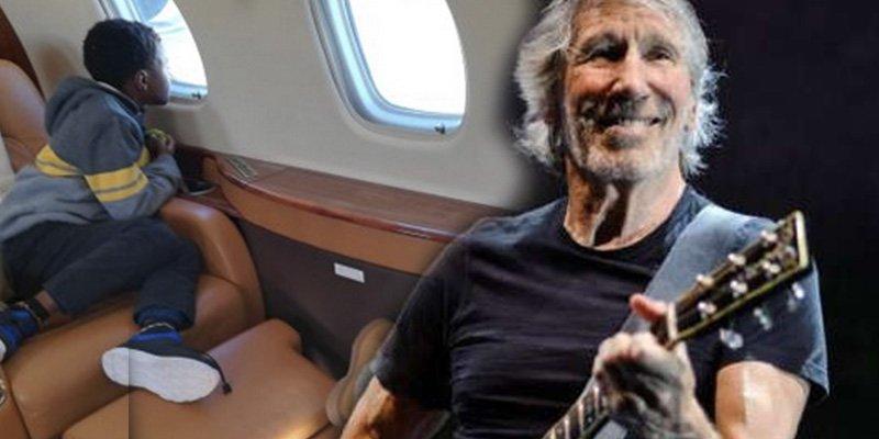 Roger Waters presta su jet privado para que una madre pueda volver a reunirse con sus hijos en Siria