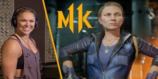 ¿Sabías qua campeona de la WWE Ronda Rousey da voz a la icónica Sonya Blade en el nuevo Mortal Kombat?