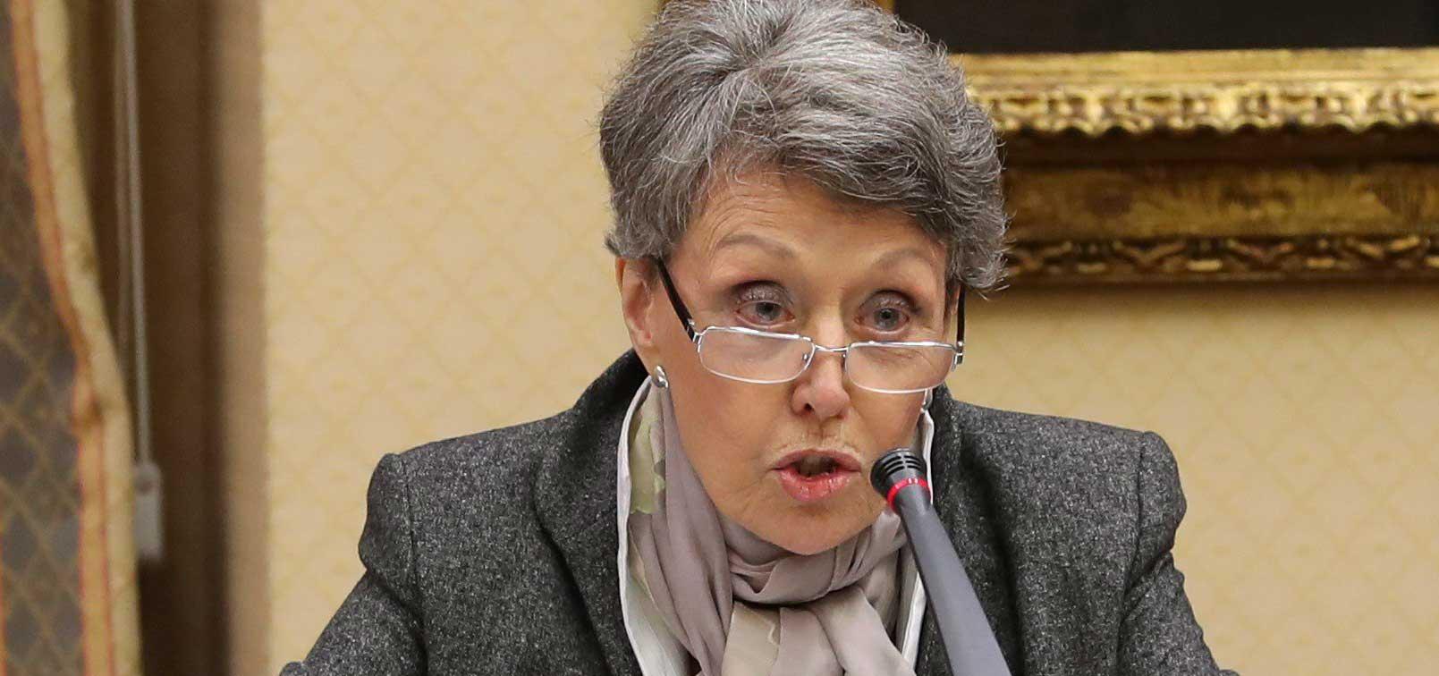 Rosa María Mateo hunde los Telediarios de la soviética RTVE en su peor cifra de audiencia