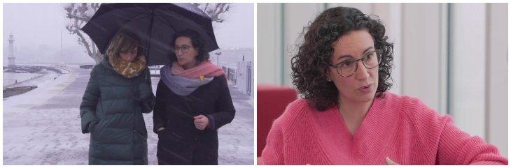 'Fugados por el mundo': el programa de Buenafuente en TV3 arropa a la golpista Marta Rovira, huida de la Justicia