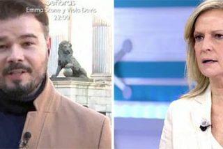 Rufián se pone flamenco en Telecinco e Isabel San Sebastián le borra la sonrisa de manipulador