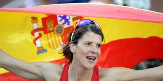 La campeona de salto Ruth Beitia, candidata del PP a la Presidencia de Cantabria