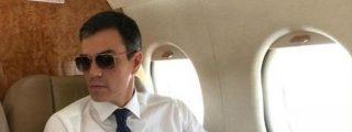 La jeta de altos vuelos de Sánchez: dice que su viaje en Falcon a Benicàssim sólo costó 283 euros