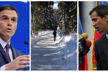 Pedro Sánchez congela las esperanzas del pueblo venezolano con su gesto más inmoral hacia Juan Guaidó