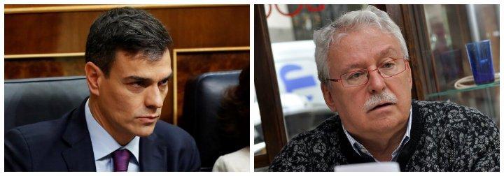 Joaquín Leguina hiela la sangre de los propios socialistas con un guiño a las propuestas de Vox