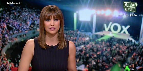 """Sandra Sabatés saca la Femen que lleva dentro y se sube a la ola de insultar a VOX: """"¡Ataca a las mujeres!"""""""