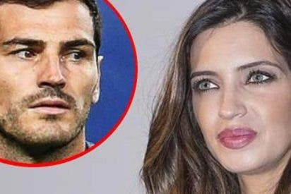 Sara Carbonero se pilla un rebote por la foto del 10 Years Challenge de Iker Casillas