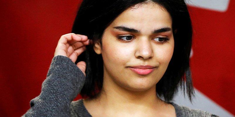 Esta joven saudita que huyó de su país inicia una nueva vida con vestido corto y comiendo cerdo