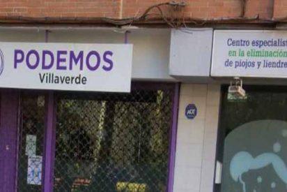¿A qué no adivinas porque ha cerrado el negocio situado junto a la sede de Podemos?