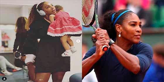 El inspirador mensaje que dedicó Serena Williams a los padres trabajadores a través de Instagram