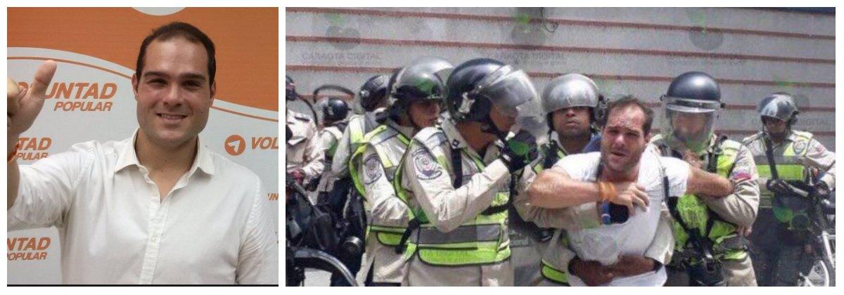 """Sergio Contreras, preso político torturado por la dictadura de Maduro: """"Las carceleras mujeres son mucho más crueles que los hombres"""""""