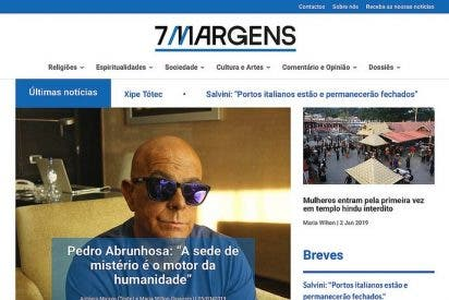 Nace ''Sete Margens', toda la actualidad religiosa en portugués