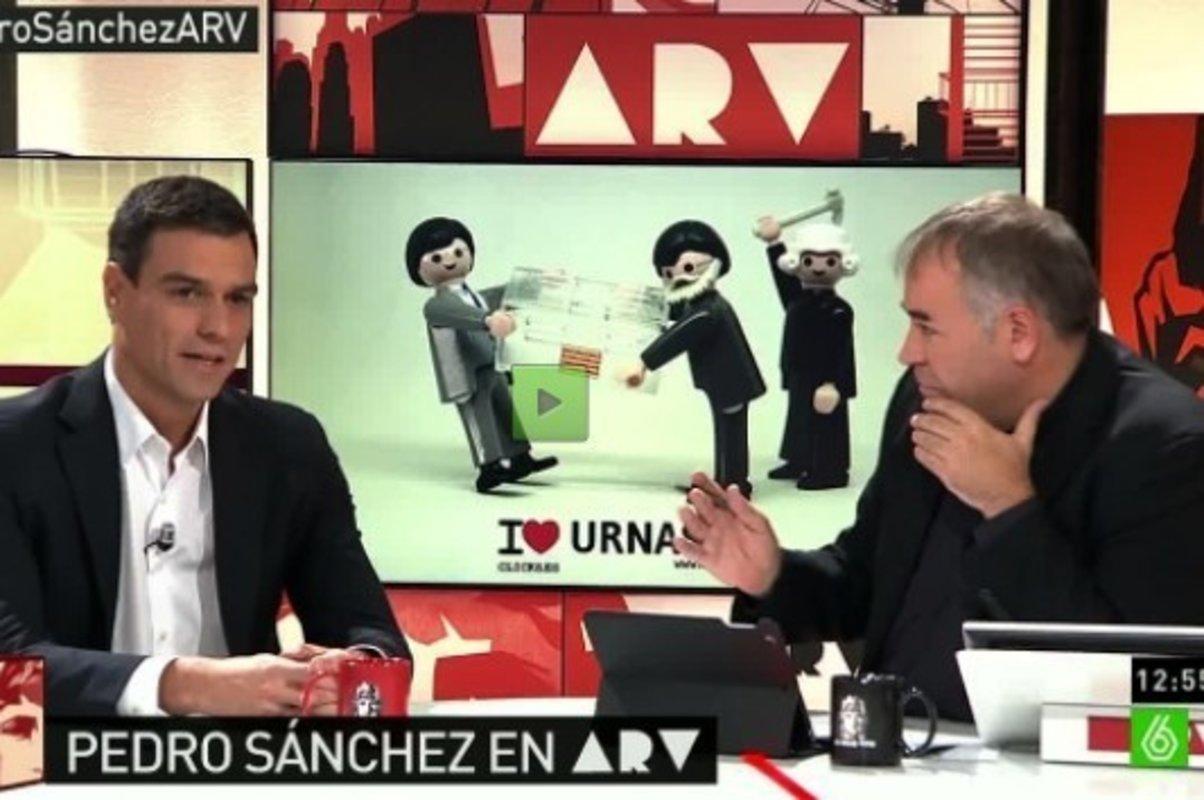 La 'verdad' sobre laSexta, Pedro Sánchez y Pablo Iglesias que avergüenza a Atresmedia