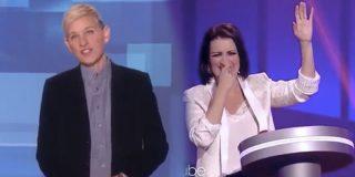 Silvia Abril y su delirante aparición en el programa americano de Ellen DeGeneres