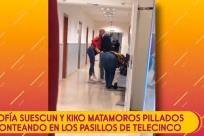 Sofía Suescun se quita de encima las manos del 'pulpo' Kiko Matamoros