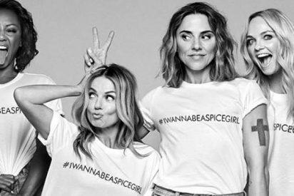 Así son las camisetas de la vergüenza de las Spice Girls
