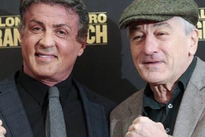 Stallone y De Niro 'ajustan cuentas' en el cuadrilátero