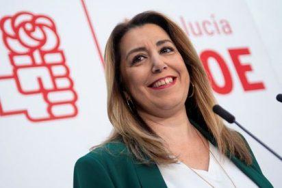 """""""Tú me das cremita, yo te doy pene"""", el regalito de Susana Díaz antes de dejar la presidencia"""