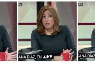 """El demoledor vídeo de 20 segundos que deja a Susana Díaz en bragas: """"No comparto que se rodee el Congreso"""""""