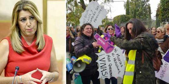 """El funesto vaticinio de Rosa Díez con Susana Díaz, los autobuses fletados y el PSOE andaluz que se echa al monte: """"Esto sí que da miedo"""""""