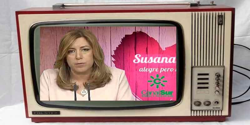 La socialista Susana Díaz está más perdida que una gallina en un baile