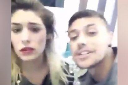 Video: Un joven armado graba cómo captura rehenes y amenaza a su ex novia en una peluquería