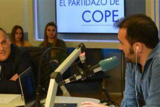 Juanma Castaño afea en directo a Javier Tebas sus frecuentes visitas a De la Morena en detrimento de la COPE