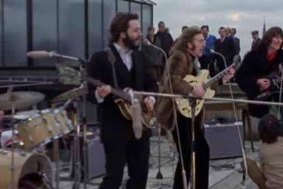 Se cumplen 50 años del último y famoso recital de Los Beatles, la gloria en una terraza de Londres