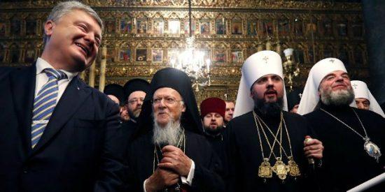 Bartolomé otorga a la Iglesia ortodoxa de Ucrania la independencia de la de Rusia
