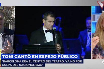 """Veto independentista a la obra de Toni Cantó en Cataluña y Elisa Beni rezuma satisfacción ante el de Cs: """"¡A lo mejor no les gustas tú!"""""""