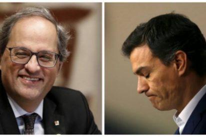 Independentismo en Cataluña: vamos a infamia diaria y Pedro Sánchez se las traga todas