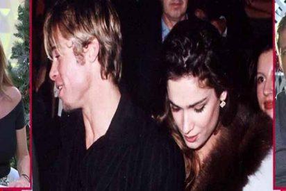 Brad Pitt tuvo un lío con la actriz española Mar Saura y a Makoke ni le prestó atención